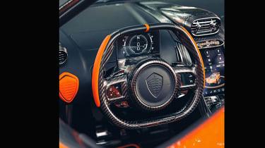 Koenigsegg Jesko 2021 production car - interior
