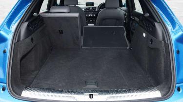 Audi Q3 - boot seats down