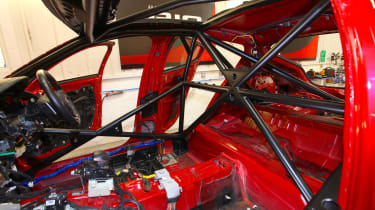 Kia Stinger GT420 - front roll cage