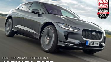 Jaguar I-Pace - Premium Electric Car of the Year 2018