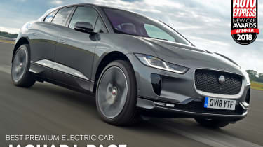 Jaguar I-Pace - Premium Electric Car of the Year 2018