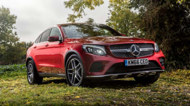 Mercedes GLC 250d Coupe - front static