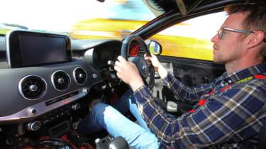 Kia Stinger GT420 - Sean driving