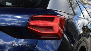 Audi Q2 35 TFSI long-termer - rear light