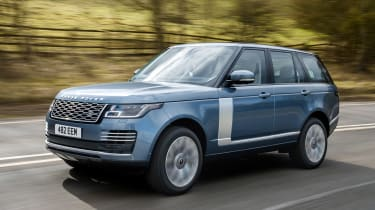 Range Rover PHEV - front action