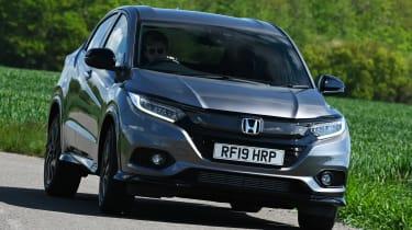 Honda HR-V Sport - front cornering