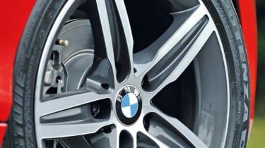 BMW 118d wheel