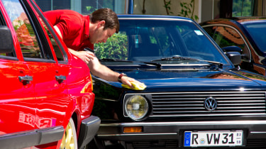 VW Golf GTI cleaning Worthersee