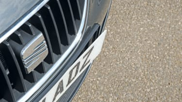 SEAT Ibiza ST number plate