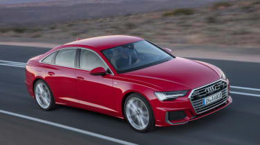 New Audi A6 - front