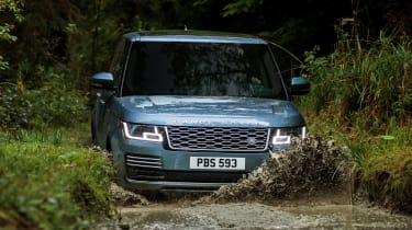 Updated Range Rover - off-road