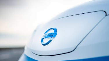 Nissan ice cream van - front detail