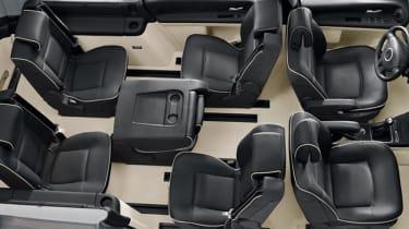 Renault Grand Espace sliding seats
