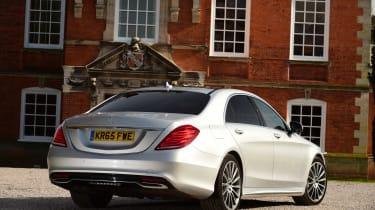 Mercedes S-Class - rear static