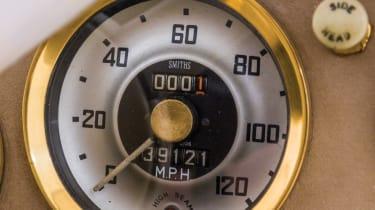 Austin Healey 100-Six - gold plated speedo