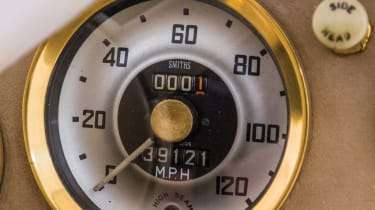 Austin Healey 100-Six - gold plated speedo