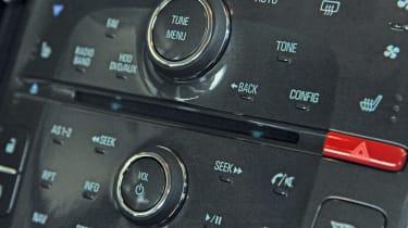 Vauxhall Ampera centre console