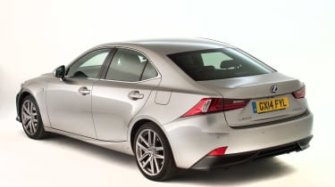 Used Lexus IS - rear