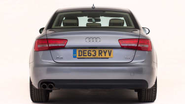Used Audi A6 - full rear