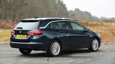 Vauxhall Astra ST - rear static