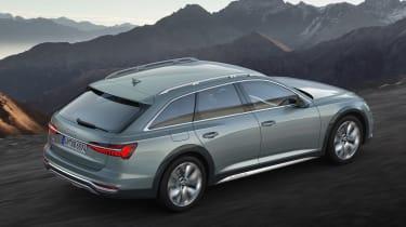 Audi A6 allroad quattro - rear static