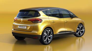 Renault Scenic - rear studio