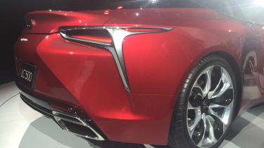 Lexus LC500 - rear detail show