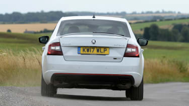 Skoda Octavia vRS 245 - full rear