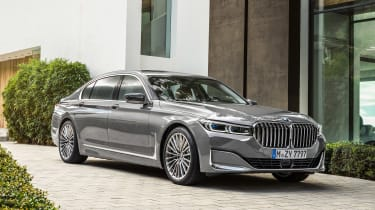 BMW 7 Series facelift - front static