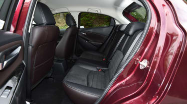 Used Mazda 2 Mk3 - rear seats