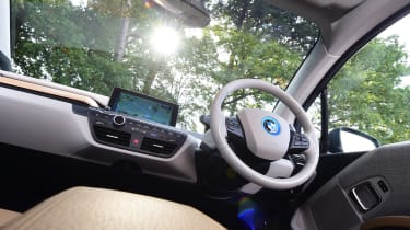 Long-term test review: BMW i3 REx interior 2