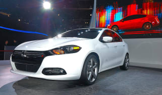 Dodge Dart front three-quarters