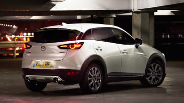 Mazda CX-3 GT SportNav+ - white rear