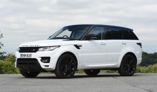 Used Range Rover Sport - front