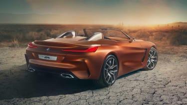 BMW Concept Z4 leaked - rear