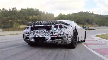 McLaren 720S - video screenshot