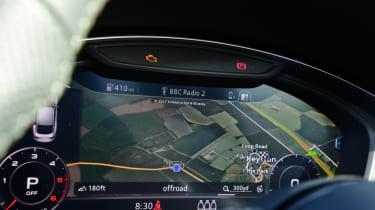 Twin test - Audi A5 - display