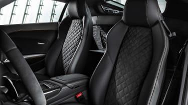 Audi R8 V10 Decennium - seats