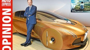 Ian Robertson discusses BMW's autonomous future