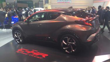 Toyota C-HR Hy-Power - Frankfurt side/rear
