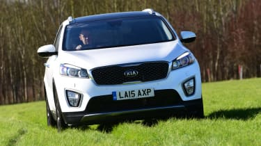 Kia Sorento long-term test - front tracking