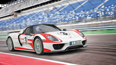 The Porsche 918 is the cheapest of the big three, with even the most expensive version (featuring the Weissach Package, which is lighter and faster) costing around £625,000.