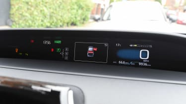 Toyota Prius long-term test - third report dials