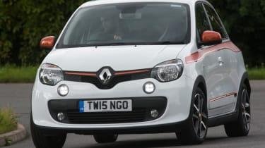 Triple test – Renault Twingo - front action
