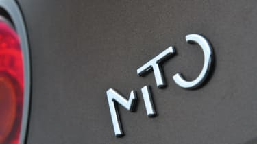 Alfa MiTo JTDm Sprint badge