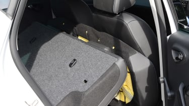 SEAT Ibiza long-term - rear seats down
