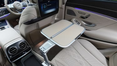 Mercedes S-Class - rear interior