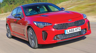 Best new cars of 2017: our road tests of the year - Kia Stinger