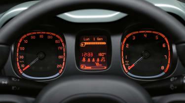 Fiat Panda hybrid - dial
