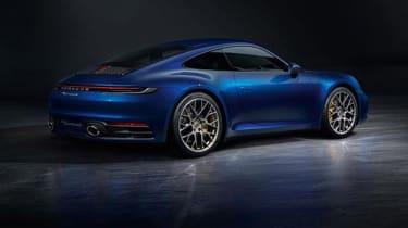 Porsche 911 - rear blue